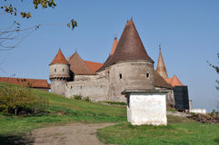 The Corvin castle, Romania Royalty Free Stock Images