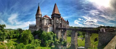 Corvin Castle Romania Royalty Free Stock Photography