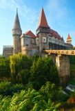 Corvin Castle (Romania) Royalty Free Stock Photography