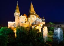 Corvin Castle (Romania) Stock Photography