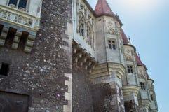 Corvin kasztel, Transylvania Obraz Stock