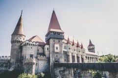 Corvin kasztel, Transylvania Fotografia Stock