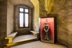 Corvin-` s Hunyadi Schloss in Hunedoara, Rumänien Stockbilder