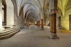 Corvin-` s Hunyadi Schloss in Hunedoara, Rumänien Lizenzfreies Stockbild