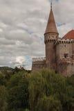 Corvin-Schloss stockbild