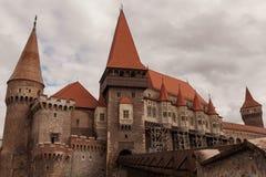 Corvin-Schloss stockfoto