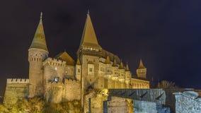 Corvin slott Royaltyfria Bilder