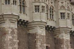 Corvin slottdetaljer, Rumänien 2 Arkivbild