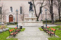 Corvin Ter (Corvin Square), Budapest Royalty Free Stock Photography