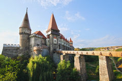 Corvinesti Castle Stock Photography
