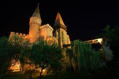 Corvinesti Castle Stock Photo