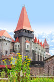 Corvinesti castle, Hunedoara, Transylvania, Romania Stock Photography