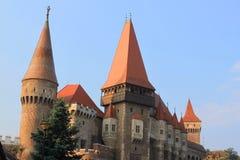 Corvinesti Schloss Stockbild