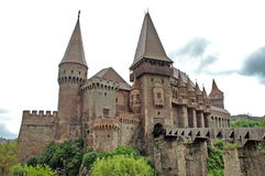 Corvinestilor castle, Hunedoara, Romania Royalty Free Stock Photography