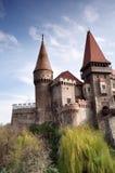 Corvinilor Castle stock images