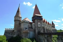 Corvinilor Castle Στοκ Εικόνες