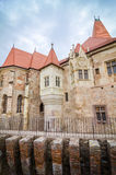 Corvinilor Castle in Hunedoara Transylvania region of Romania Stock Photography