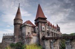 Corvinilor Schloss stockfotos