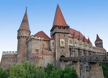 Corvinilor slott Arkivbild
