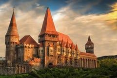 Corvins `-slott Rumänien Royaltyfria Bilder
