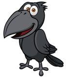 Corvo dos desenhos animados ilustração do vetor