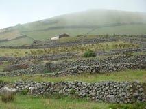 Corvo_island_Azores Lizenzfreies Stockbild