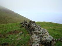 Corvo_island_Azores Fotografering för Bildbyråer