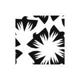 Corvo nero senza cuciture Illustrazione Vettoriale