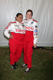 Corvo-Symone & Mary Lynn Rajskub Imagens de Stock Royalty Free