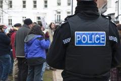 corwall το Ντέβον Έξετερ καταλαμβάνει τα ρολόγια αστυνομίας Στοκ Φωτογραφία