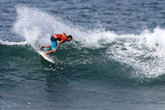 cory夏威夷卢佩茨赞成冲浪者冲浪 免版税库存图片