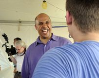 CORY BOOKER Royalty Free Stock Image