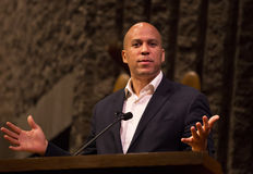 Cory Booker Stock Photography