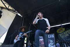 Cory Brandan - Norma Jean - Warped Tour 2008 Stock Photo
