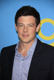 Cory Monteith arrives at the Glee TV Academy Screening and Panel Stock Image
