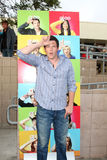 Cory Monteith. Arriving at the Glee Premiere Event at the Santa Monica High School in Santa Monica , CA on May 11, 2009 stock image