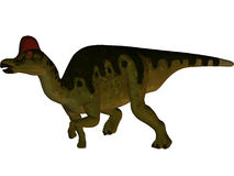 Corythosaurus-3D Dinosaur Royalty Free Stock Image