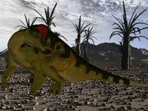 Corythosaurus-3D Dinosaur Royalty Free Stock Images