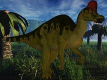 Corythosaurus-3D Dinosaur Stock Photography