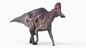 A corythosaurus royalty free illustration