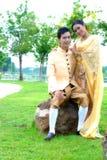 Così dolce sposi le coppie Fotografia Stock