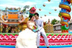 Così dolce sposi le coppie Fotografie Stock Libere da Diritti