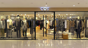 Cos fashion boutique, hong kong Royalty Free Stock Photography