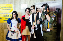 Cosplayers at East European Comic Con Stock Photography