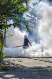 Cosa repellente di spruzzatura della zanzara Fotografie Stock