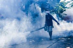 Cosa repellente di spruzzatura della zanzara Fotografia Stock