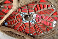 Cosanti Paolo Soleri Studios, Paradijsvallei Scottsdale Arizona, Verenigde Staten stock afbeelding