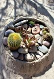 Cosanti Paolo Soleri Studios, vale Scottsdale o Arizona do paraíso, Estados Unidos Fotografia de Stock