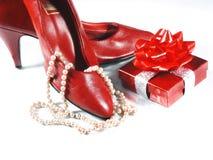 Cosas de Girly Imagen de archivo libre de regalías