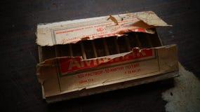 Cosas dejadas en tela abandonada de la harina Imagen de archivo libre de regalías